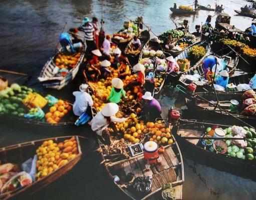 Chợ Việt trong du lịch 05